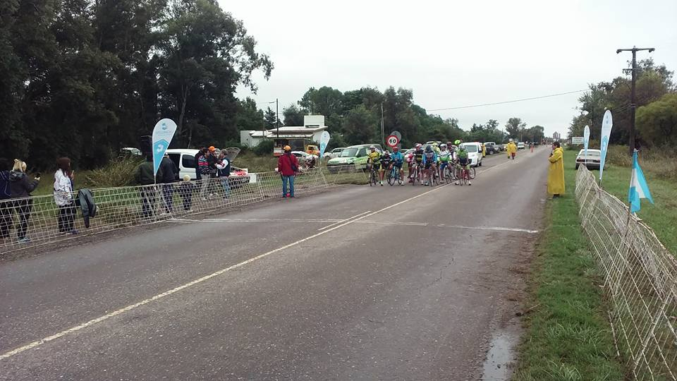 Competencias de ciclismo con pedalistas de la región