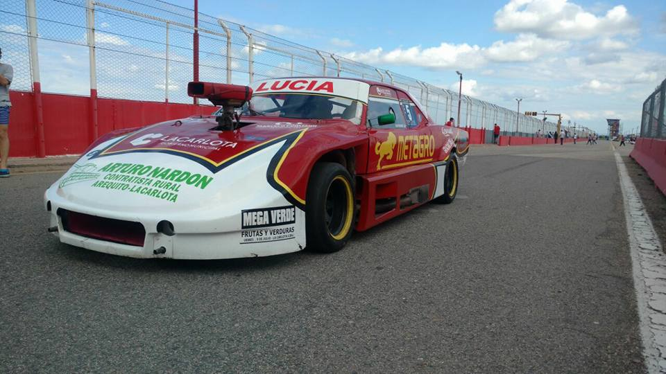 Minudri 2do en el TC Pista 4000