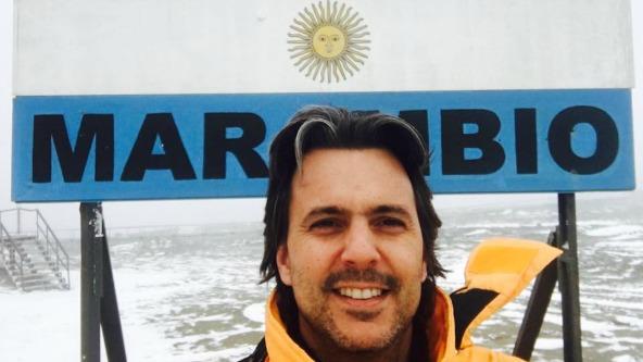 """Fue por unas horas y terminó """"encerrado"""" 8 días en la Antártida (la curiosa peripecia de Fer Sibilla)"""