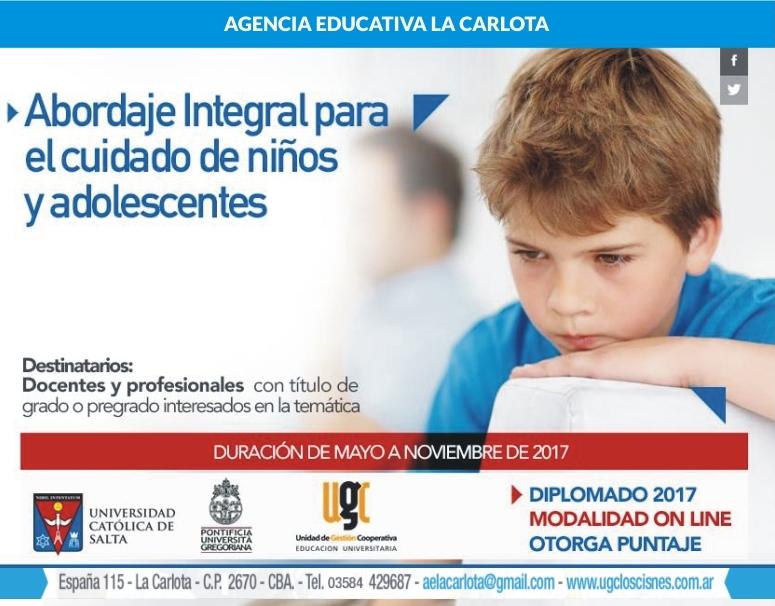 Agencia Educativa inscribe para cursar diplomado en cuidado de niños y adolescentes