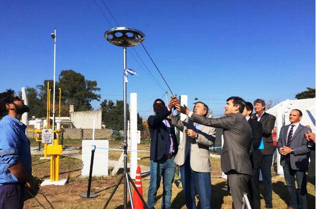 Habilitan obras de gas del sistema de Gasificación Regional Ruta 8