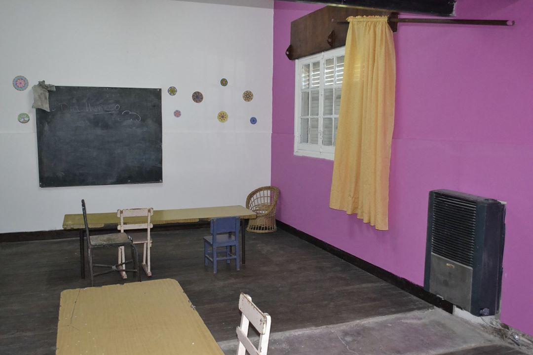 Reparaciones en el CCI de barrio Central Argentino