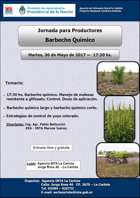 Jornada sobre Barbecho Químico en La Carlota