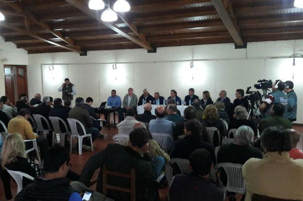 Se reunió el Consorcio Regional de Cuencas en Canals
