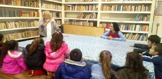 Actividad cultural en el Día de las Bibliotecarias