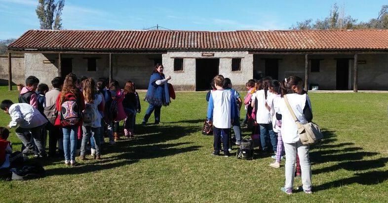 Estudiantes del Fortín Heroico visitaron el Fuerte