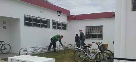 Continúan las mejoras edilicias en el colegio Maria Benita Arias