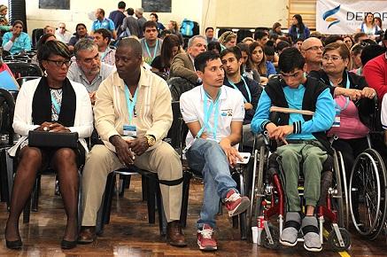 Carlotenses formaron parte del Congreso Internacional de Deporte Adaptado
