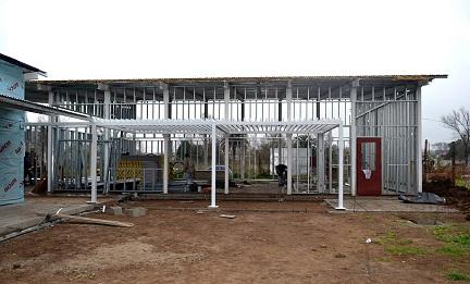 Avanza la construcción del nuevo jardín Victorino Ordóñez