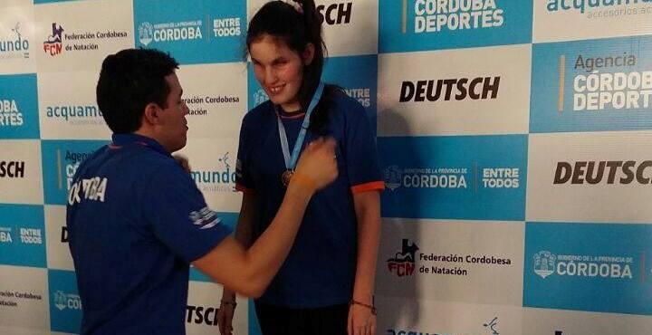 Notable actuación de Camila Ludueña en los Juegos de la Región Centro