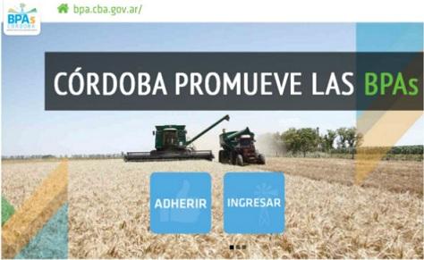 BPA: productores adheridos deben finalizar la carga de datos