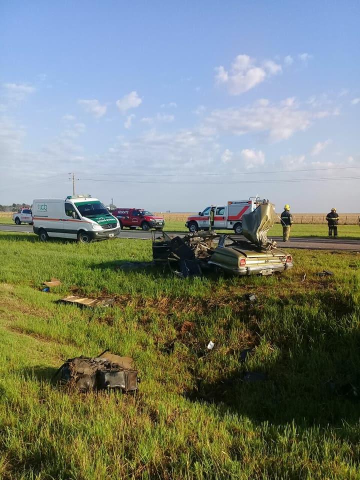 Un muerto tras un choque entre un auto y un camión en Los Cisnes