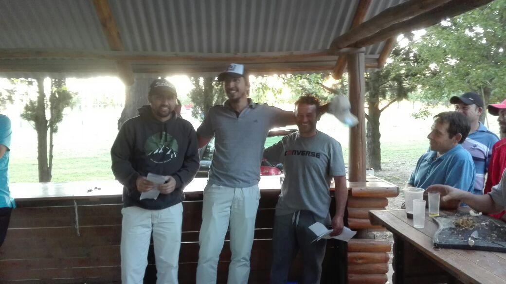Resultados torneo de Golf