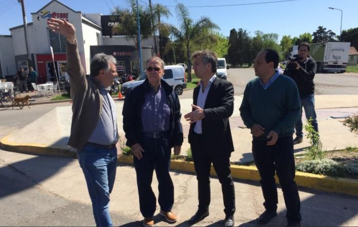 El gobernador Schiaretti recorrió obras en la ciudad
