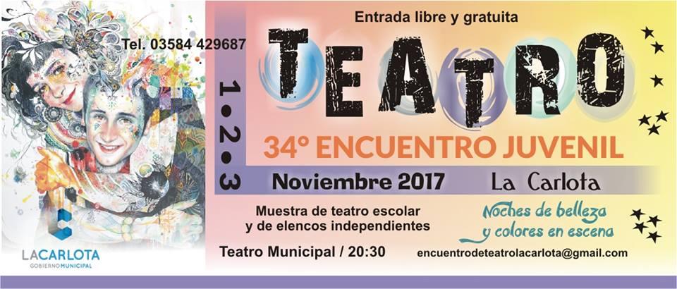 34º Encuentro de Teatro juvenil