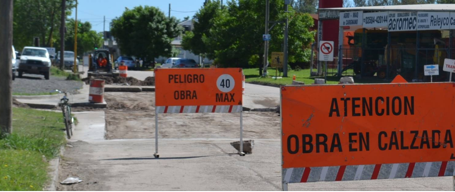 Recorridos provisorios por obras en el Tránsito Pesado