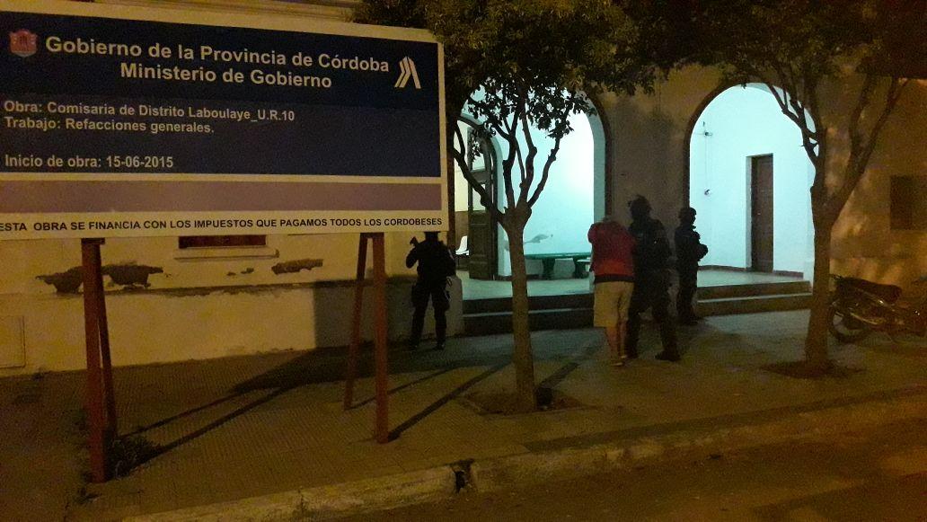 La FPA desbarató un punto de venta de drogas en Laboulaye. Un detenido