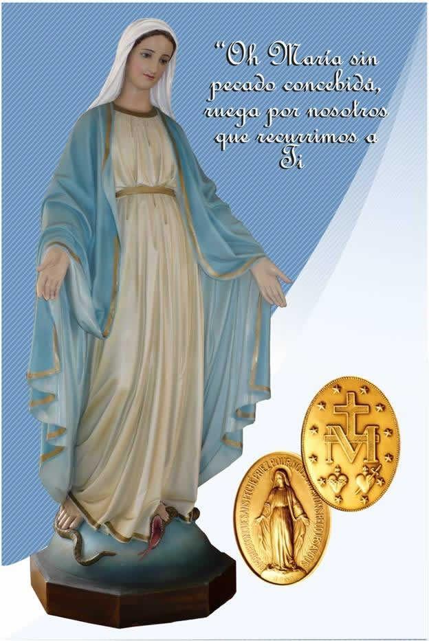 Fiesta de la Virgen de la Medalla Milagrosa.