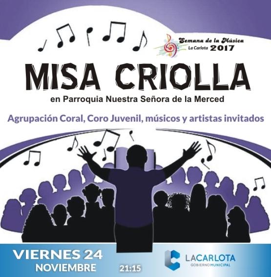 Misa Criolla en la parroquia
