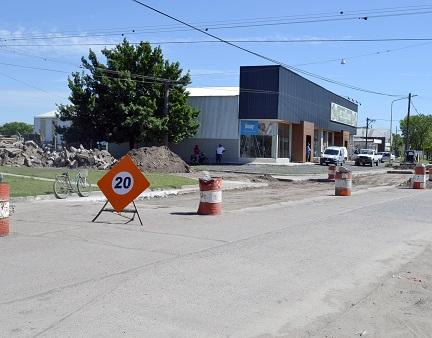 Precaución en el tránsito en San Martín y 11 de Diciembre