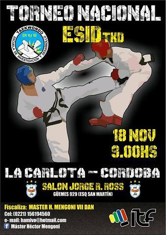 Torneo Nacional de Taekwon Do en La Carlota