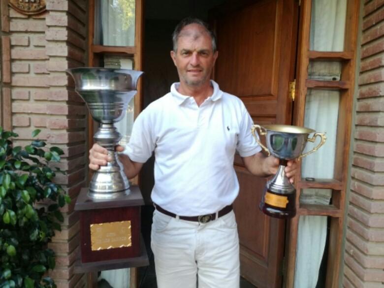 Daniel Pena cerró un buen año de Golf