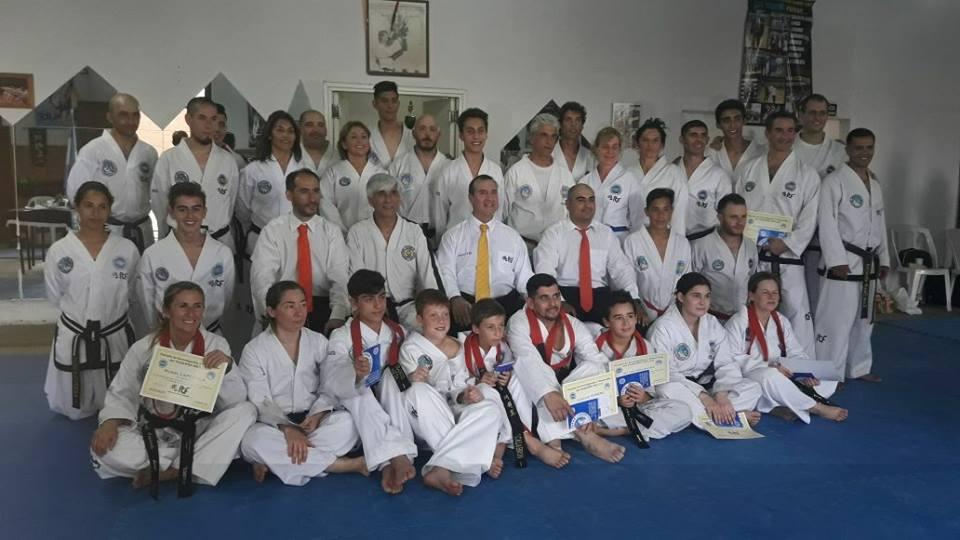 Evaluaciones para Danés de Taekwondo