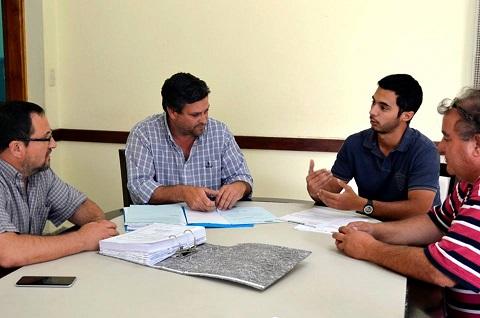 Nueva Red de Cloacas: Reunión con representantes de la empresa constructora