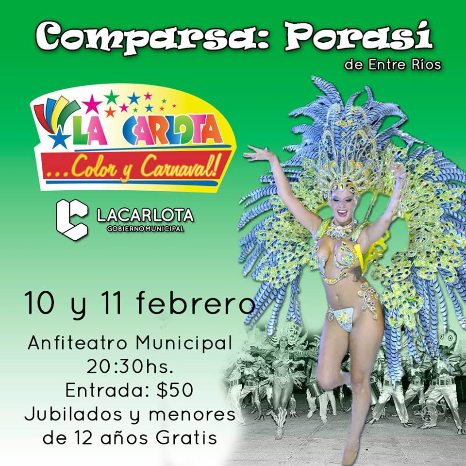10 y 11 de Febrero: Carnavales y todo el encanto de las comparsas