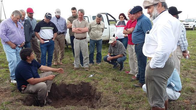 El Consejo Regional de Conservación de Suelos analizan trabajos