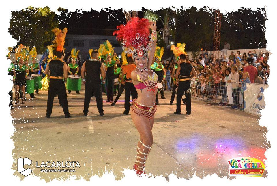 Desde el 15 al 17 de febrero carnavales en La Carlota