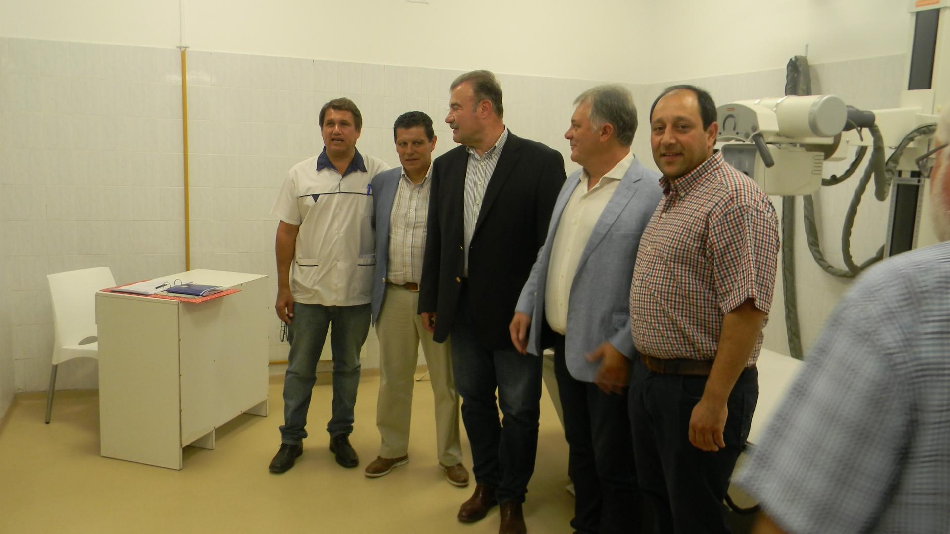 El ministro de Salud y el intendente inauguraron ampliación del Hospital
