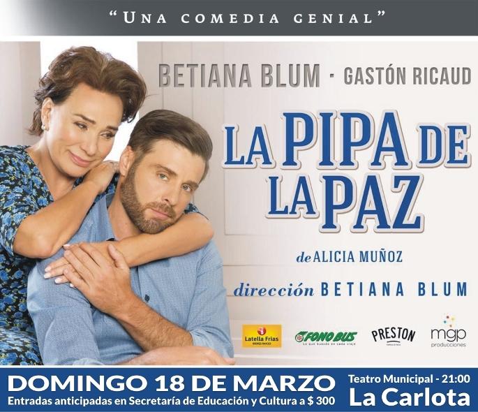 Noche de teatro nacional con Betiana Blum y Gastón Ricaud