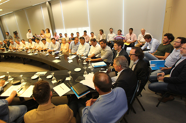 Se realizó la primera reunión de este año de la Mesa Provincia-Municipios