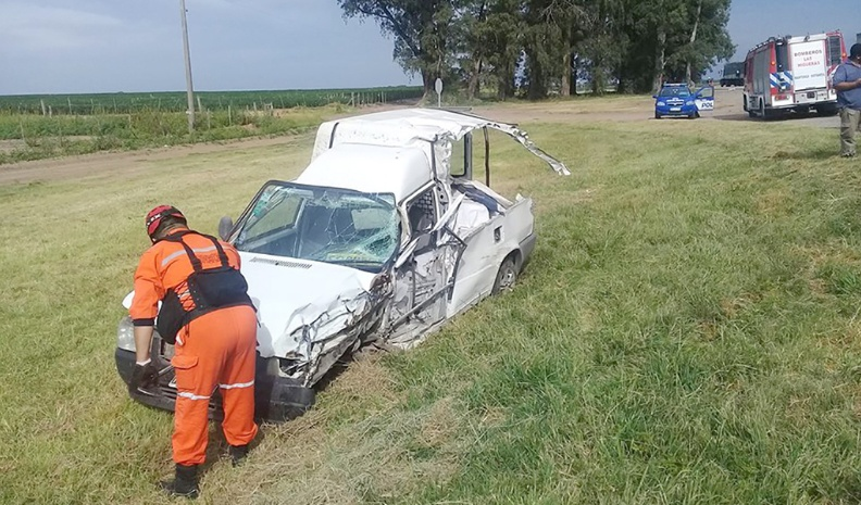 Un herido tras accidente en cercanías de Avex