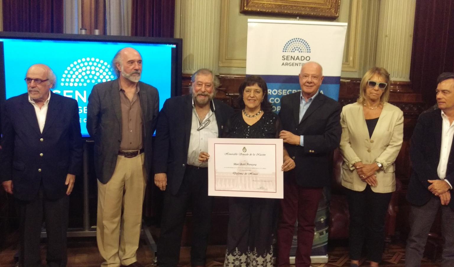 Reconocimiento nacional para Mari Betti Pereyra en Buenos Aires