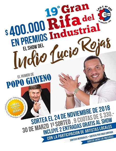 Ganadores del 2° sorteo de la Gran Rifa del Industrial 2018
