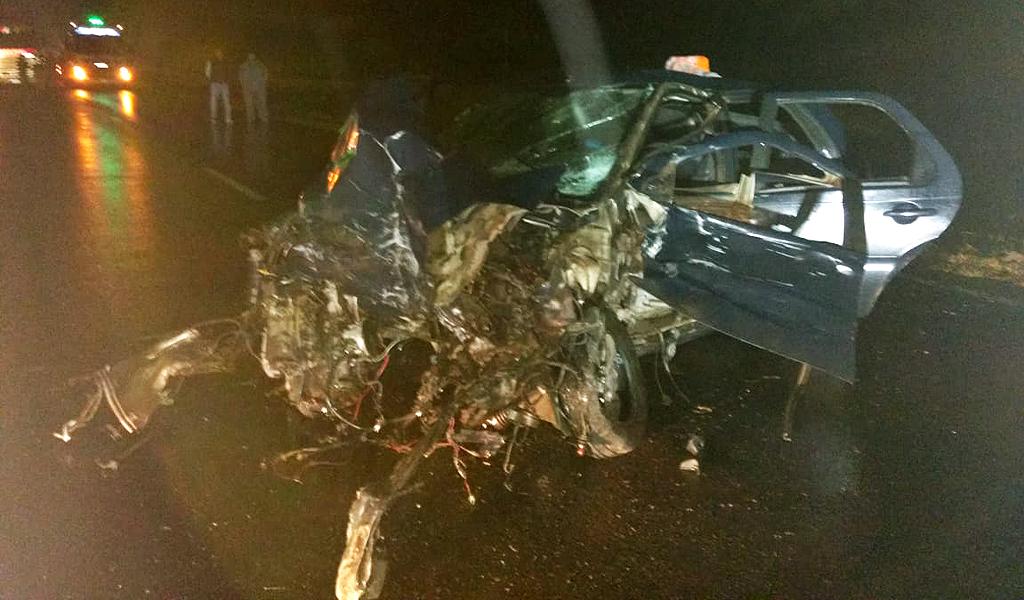 Cuatro heridos carlotenses tras accidente en ruta 8