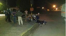 Accidente de tránsito entre San Martin y F. Zarate
