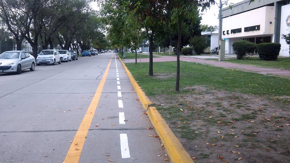 Una bicisenda para unir escuelas de la ciudad