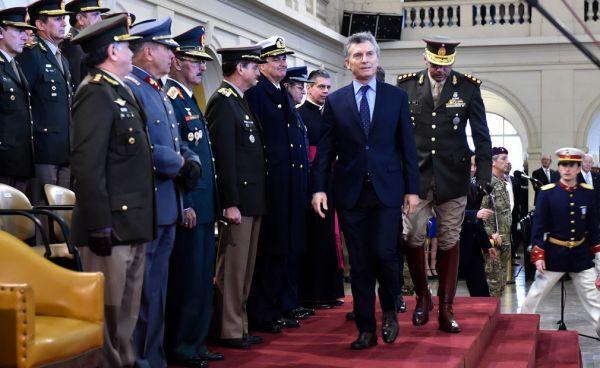 Macri celebró el Día del Ejército Argentino