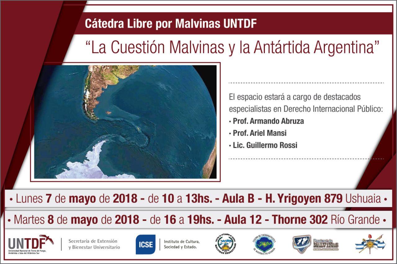 La UNTDF abordará con especialista el retroceso en materia de soberanía sobre la cuestión Malvinas