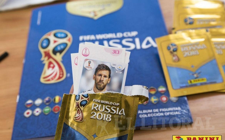 Robaron más de 25 mil figuritas del Mundial de Rusia