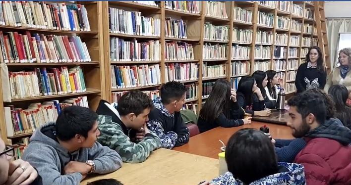 Municipalidad de La Carlota realiza taller de orientación vocacional