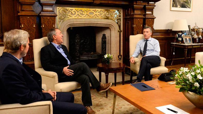 Schiaretti se reunió con Macri en la Casa Rosada