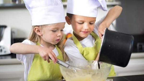 Taller de cocina gratuito para chicos y chicas en las vacaciones de invierno