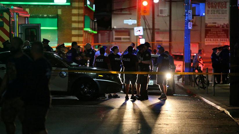 Tiroteo en Toronto deja 2 muertos y 13 heridos