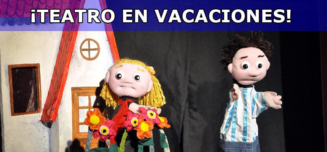 Teatro en vacaciones con cupo limitado