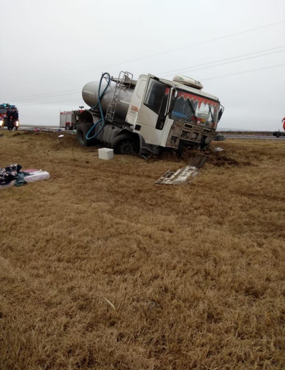 Finalmente son cinco las víctimas del accidente sobre ruta 8
