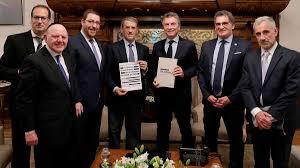 Macri recibió en la Casa Rosada a autoridades de la AMIA